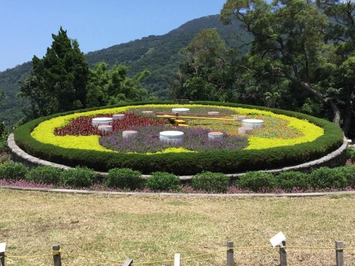 Yangmingshan 001 Flower Clock